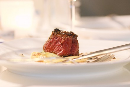 Rinderfilet Steak Blackened
