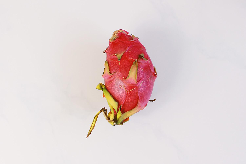 Dessert Obstsalat Drachenfrucht