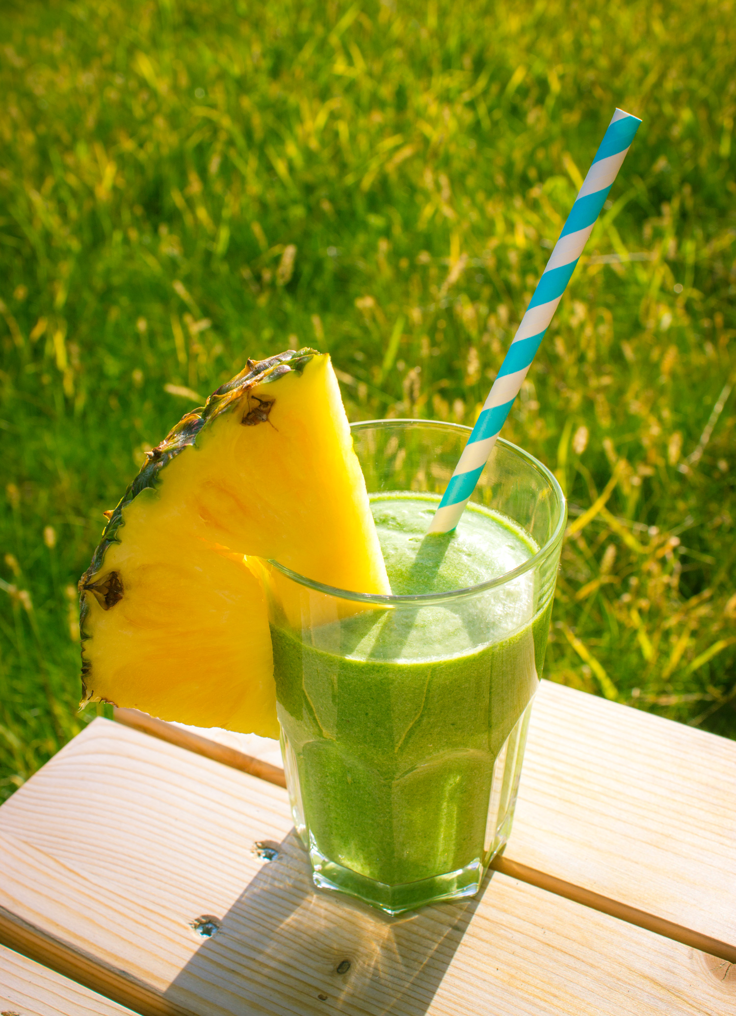 Ananas Spinat Smoothie