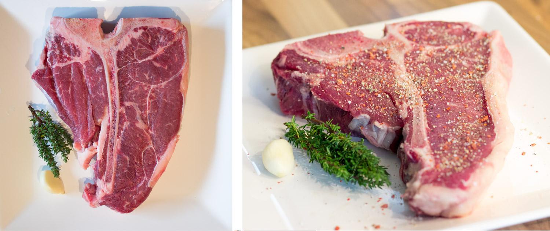 T-Bone Steak Zubereitung